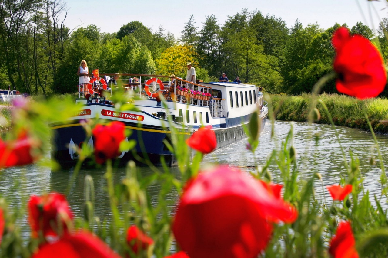 Barging allows travellers to explore some of the narrowest rivers in Europe.