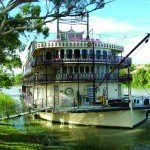 Captain Cook Cruises sails the Murray Princess on the Murray River in South Australia.