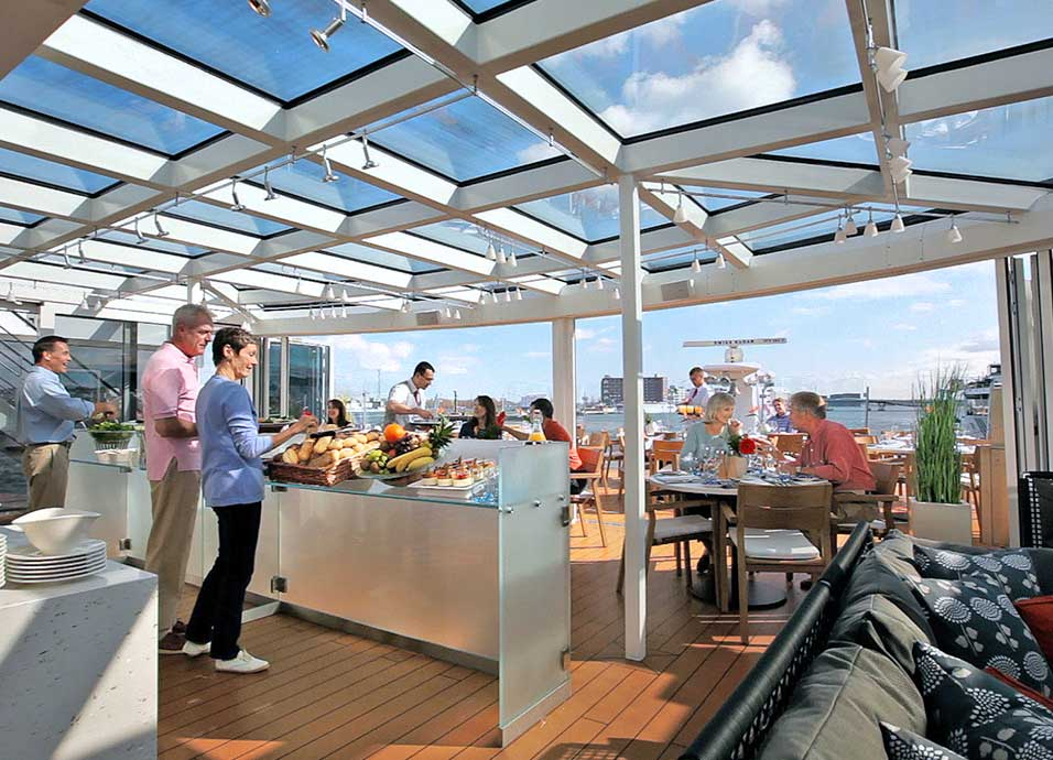 Speciality dining for all guests is included aboard all Viking River ships.