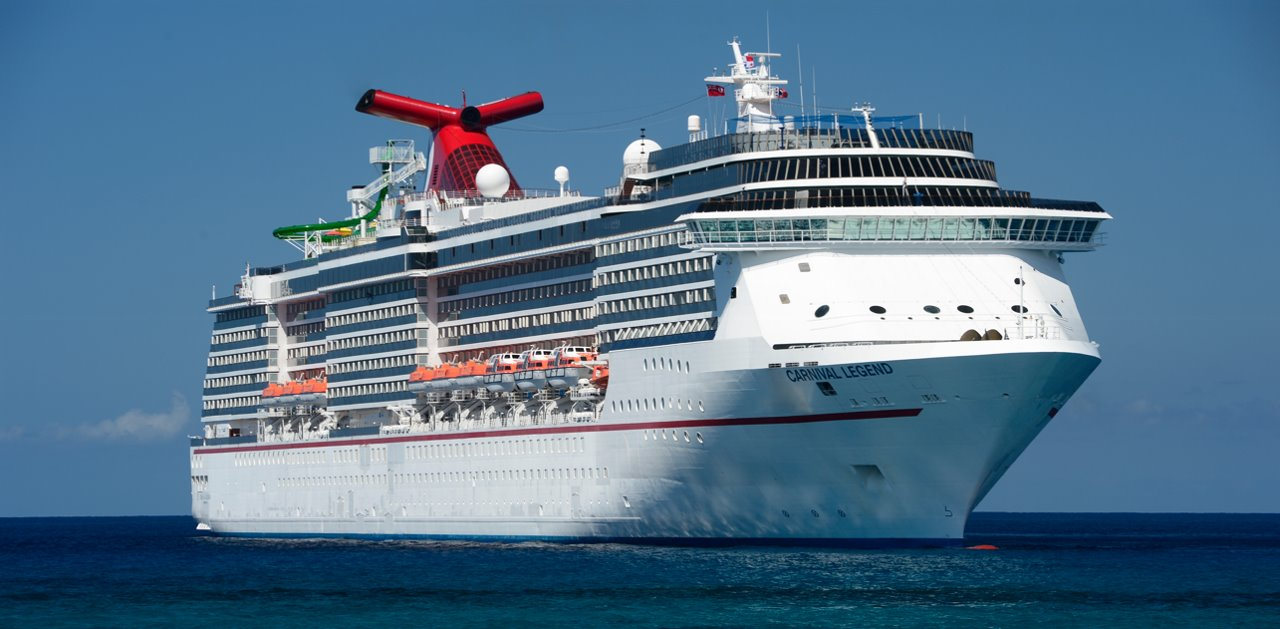 The sister ship to Carnival Spirit, Carnival Legend enjoys its annual summer stay in Sydney.