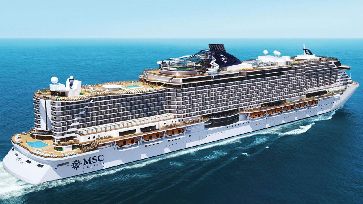 MSC Seaside will cater to over 4,000 passengers.