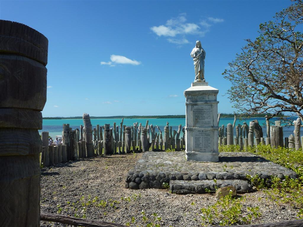 New Caledonia shore excursions include a visit to the Kanak Wood Carvings.