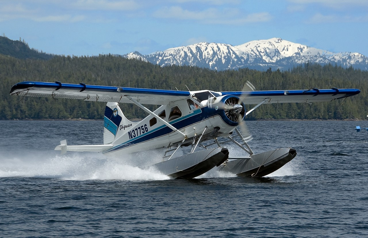 Private Journeys offer a unique float plane voyage in Alaska.