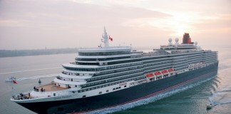 The youngest of Cunard's fleet of three Queens is Queen Elizabeth, the current ship having first launched in 2010.