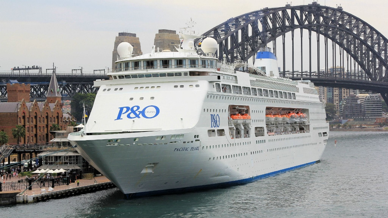Pacific Pearl will leave the P&O fleet in April 2017.