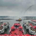 Viking River Cruises welcomed the latest additions to its fleet with the christening of six new Viking Longships during a waterfront celebration in Amsterdam.