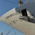 Seabourn Encore is taking shape in Italy.