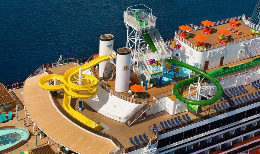 An array of activities are available on Carnival Legend.