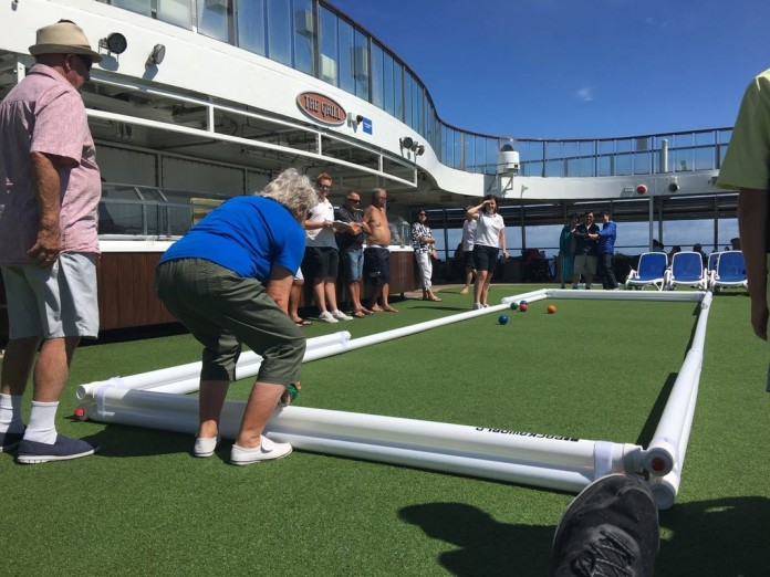 P&O Cruises has added bocce to its onboard entertainment offering.
