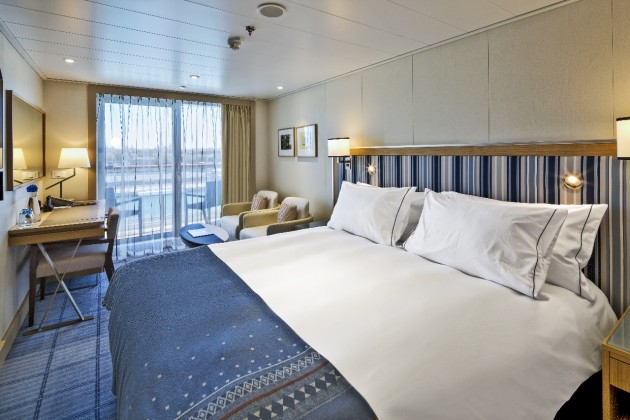 Getting an upgrade to a Deluxe Verandah Stateroom can give you additional perks aboard Viking Ocean Cruises