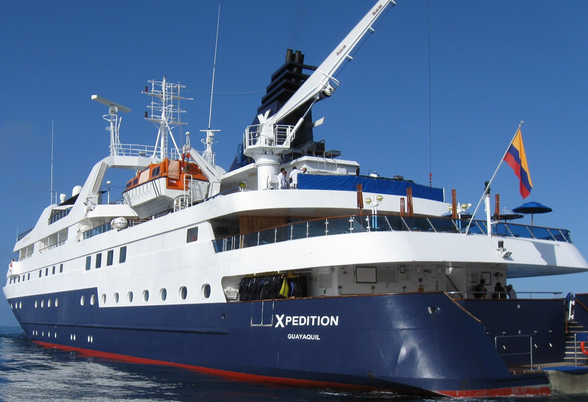 The existing Celebrity Xpedition for Celebrity Cruises.