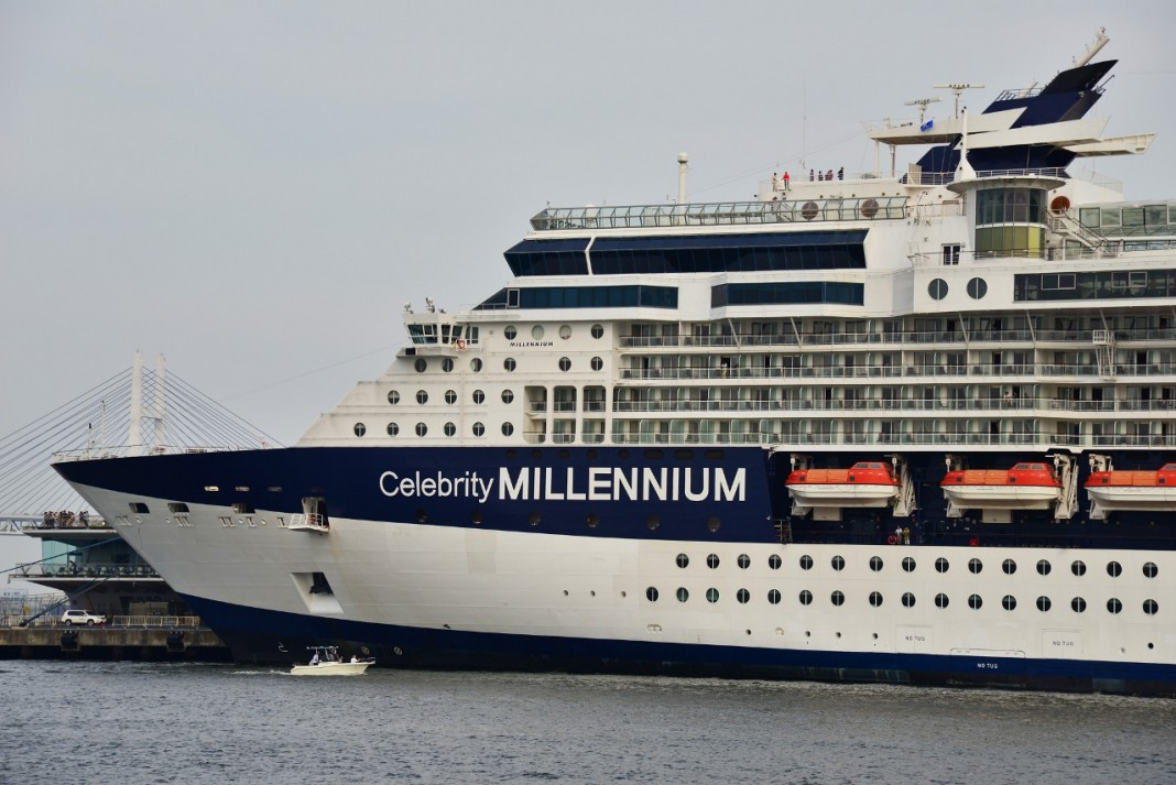 Celebrity Millennium will only make one visit to Sydney this season.