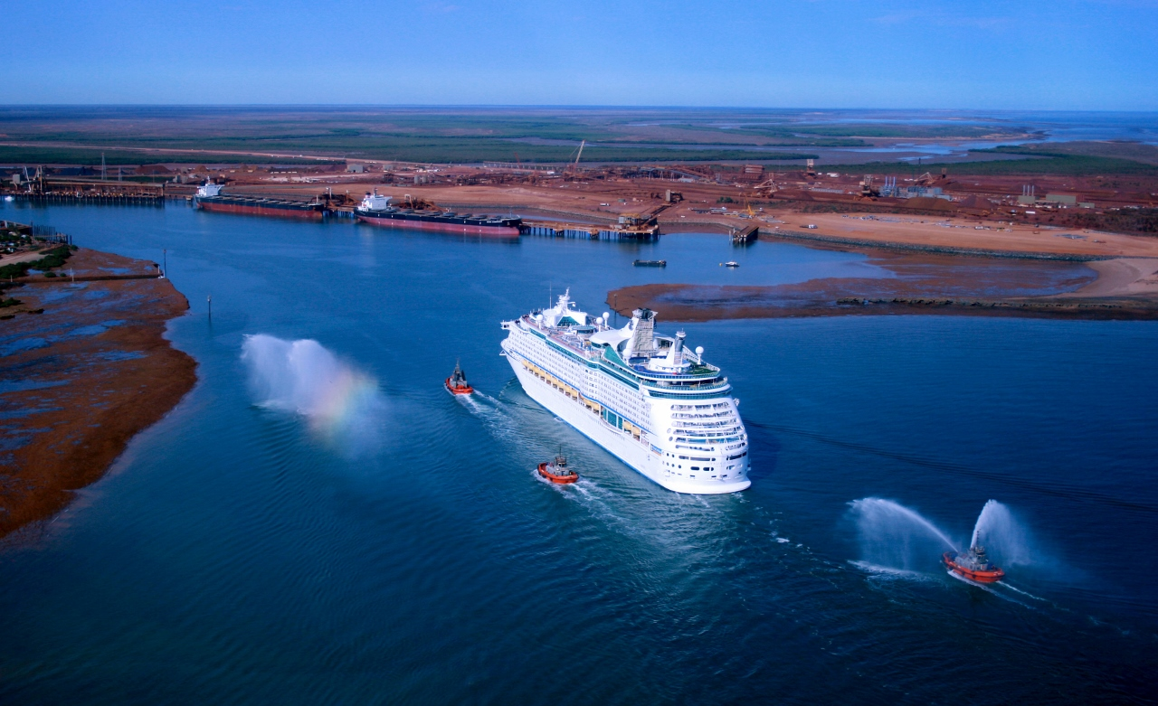 Radiance of the Seas guests can explore the iron ore industry in Port Hedland.