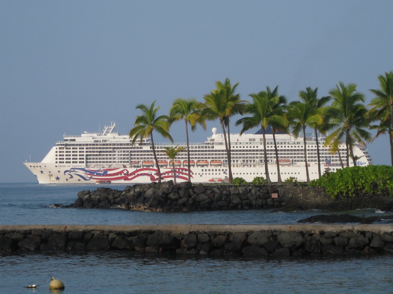 Pride of America is back delivering its seven-day Hawaii rotations.