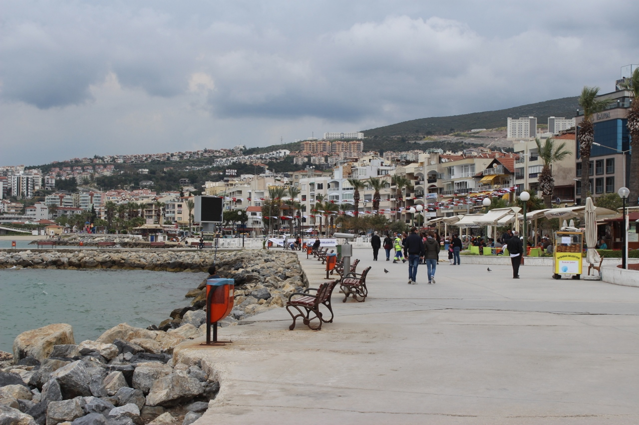 Kusadasi is among the most popular ports in Turkey.
