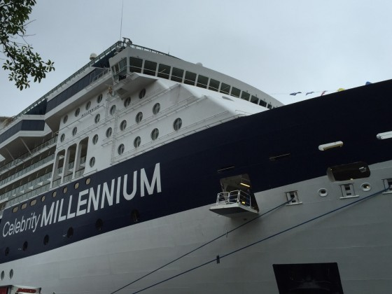 We hopped onboard Celebrity Millennium during its day in Sydney.