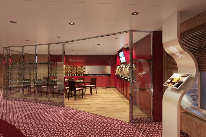 Blend by Chateau Ste. Michelle currently features on MS Koningsdam.