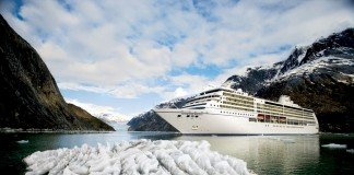 Regent Seven Seas Mariner cruising in Alaska.