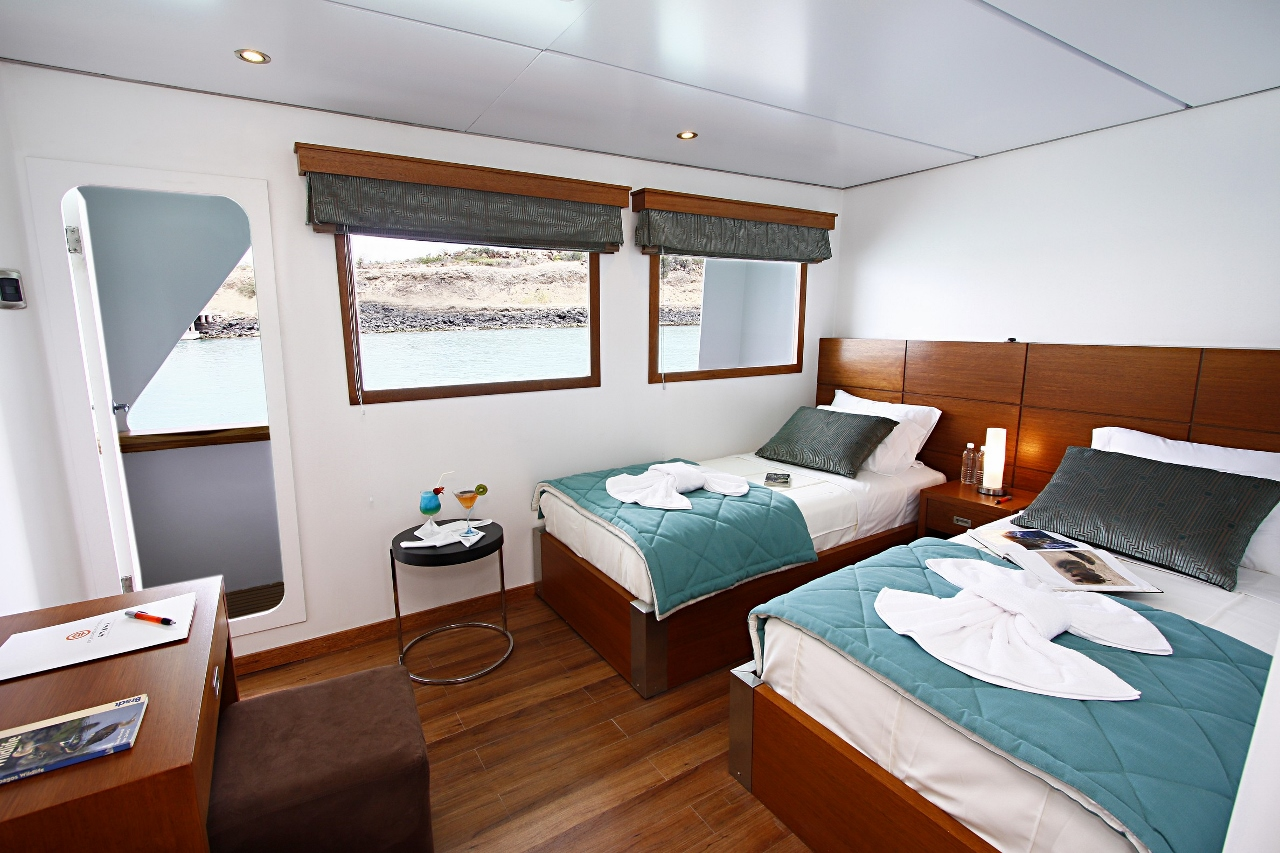 The M/C Athala rooms will be upgraded to Celebrity Cruises standard.
