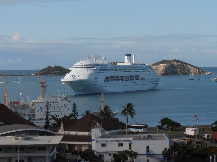 New Caledonia is a hotspot for cruises by P&O Cruises.