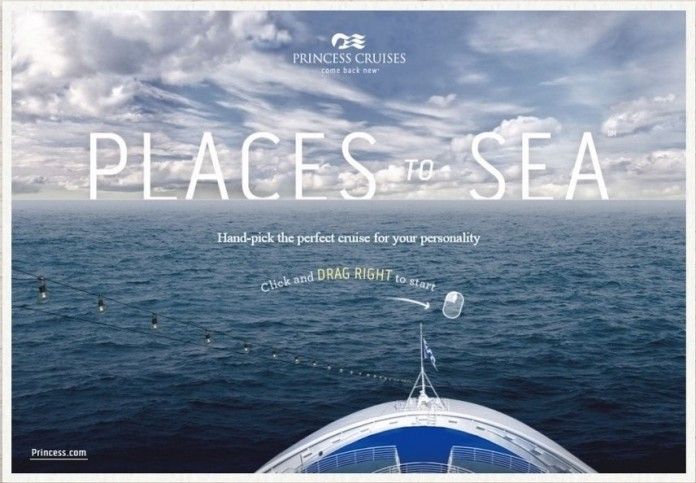 Princess Cruises' new Places to Sea online portal