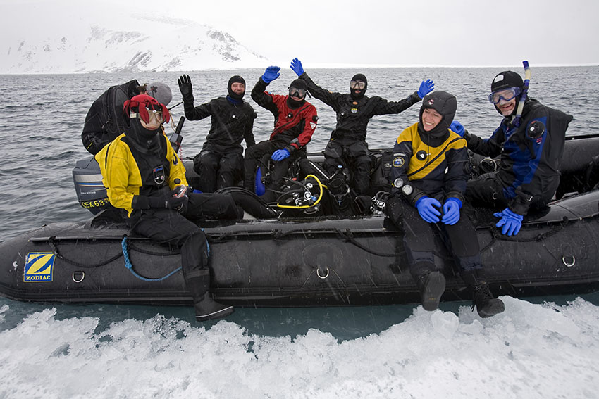 Aurora Expeditions is now offering Polar Snorkelling in the Arctic Circle.