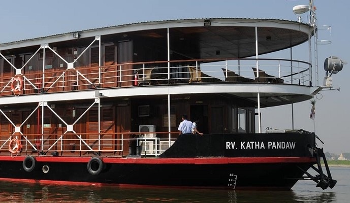 The 16-cabin RV Katha Pandaw will operate Pandaw's river cruises in Borneo