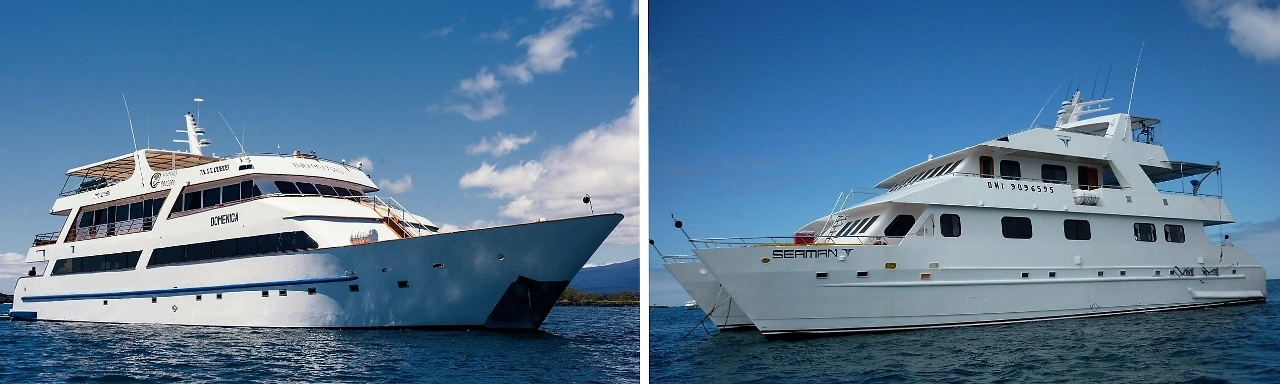 Chimu has two ships - Seaman Journey and Seastar Journey - in the Galapagos.
