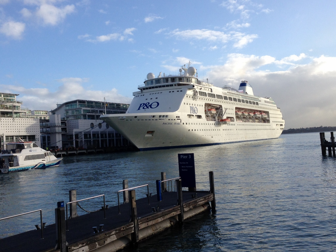 Pacific Jewel will replace Pearl in New Zealand.