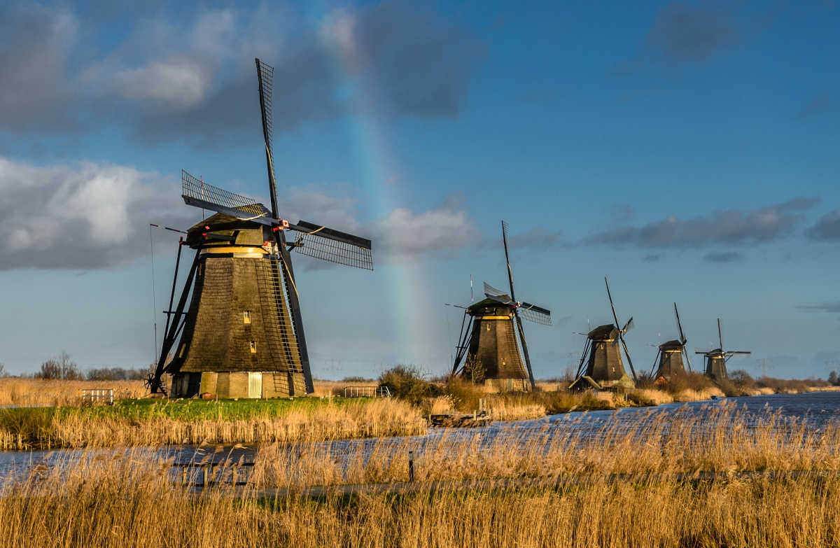 MS AmaStella will offer access to sights such as the Dutch windmills.