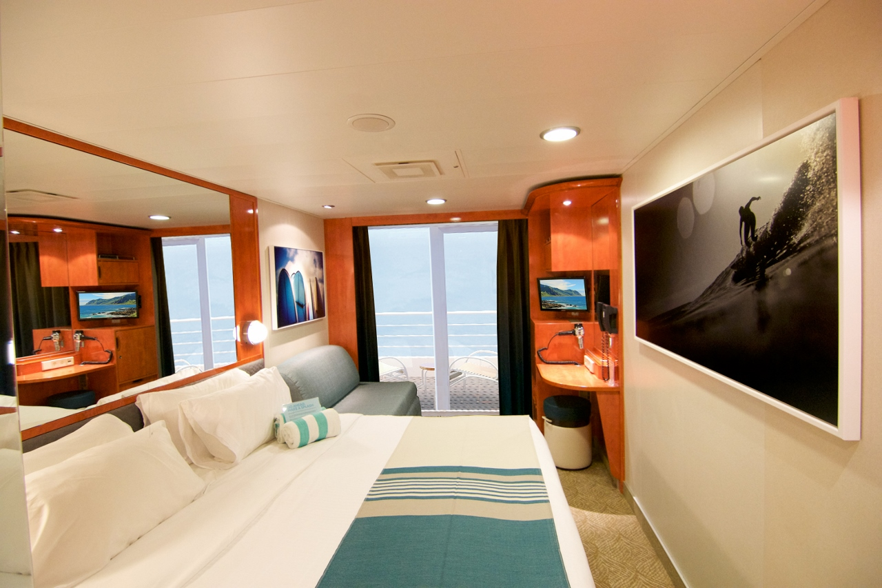 Norwegian Pride of America staterooms have been given a major refresh.