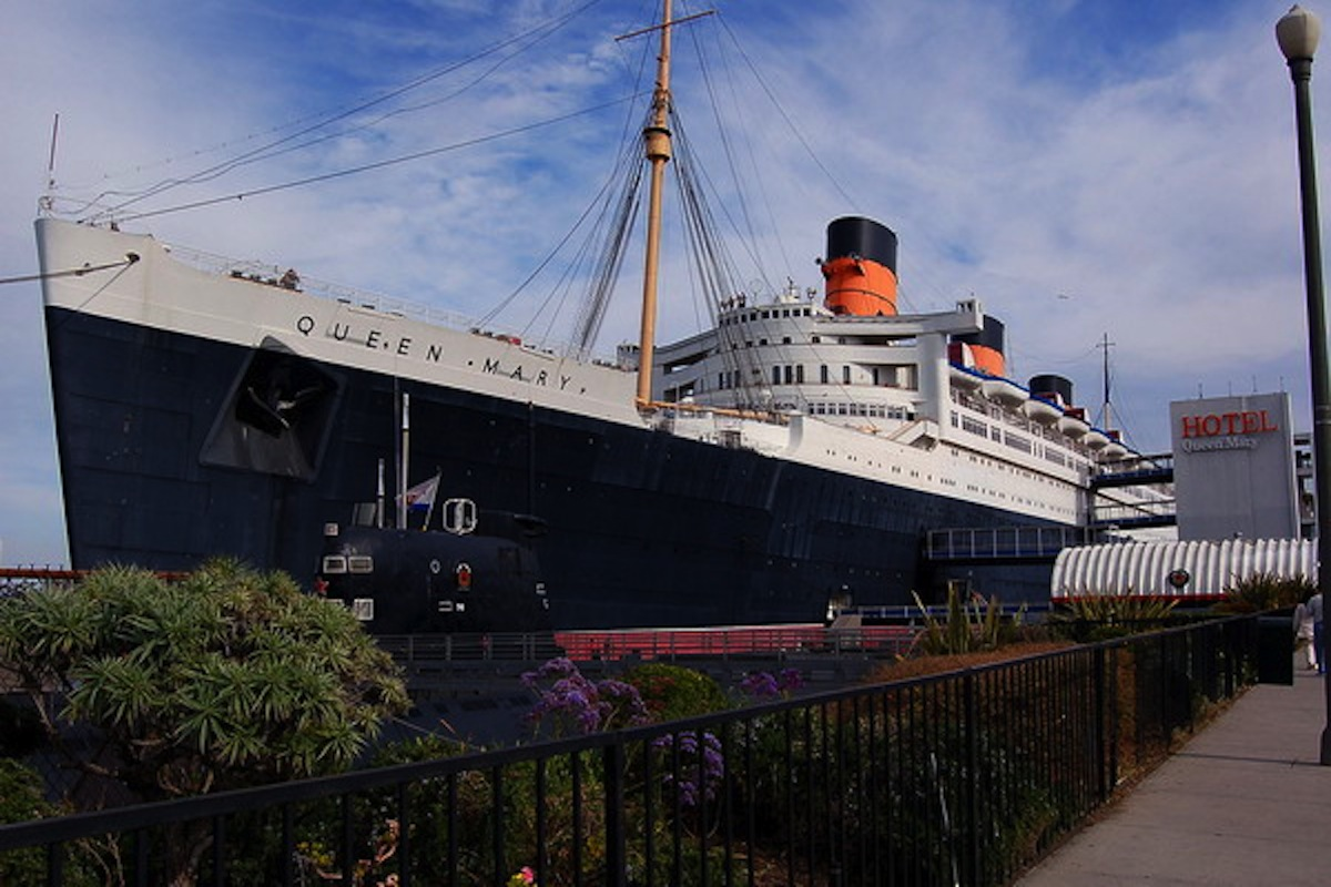 Queen Mary Floating Hotel in Long Beach California