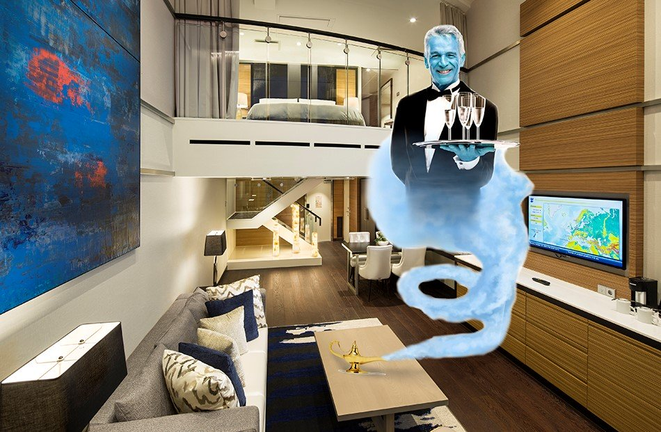 Meet the Royal Genie looking after Royal Caribbean's Suite Guests