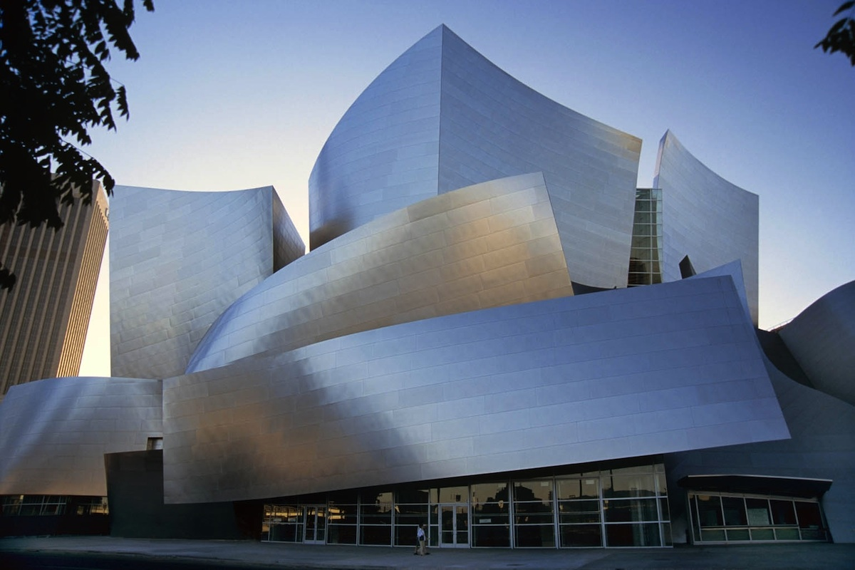 The Walt Disney Concert Hall in Downtown Los Angeles California