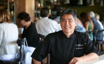 Chef Roy Yamaguci takes fusion cuisine to sea