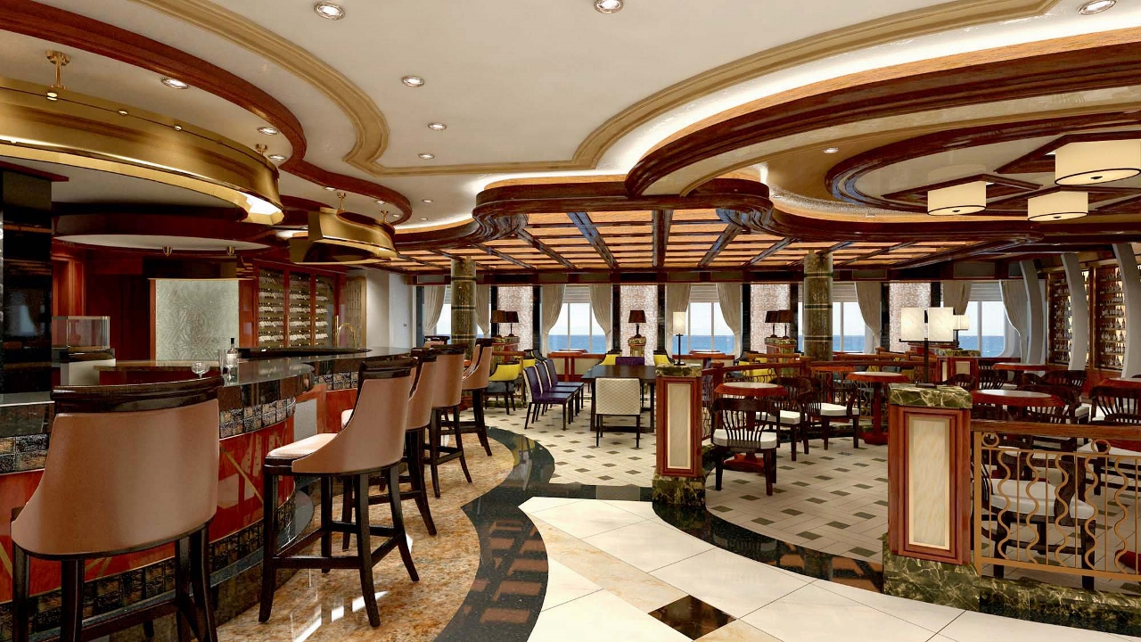 Vines Wine Bar will feature on Princess Cruises' Emerald Princess.