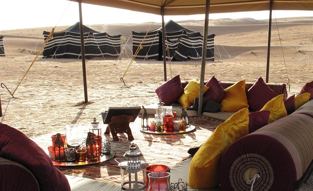 Azamara Club Cruises offers an Omani desert experience on an Overnight Adventure.