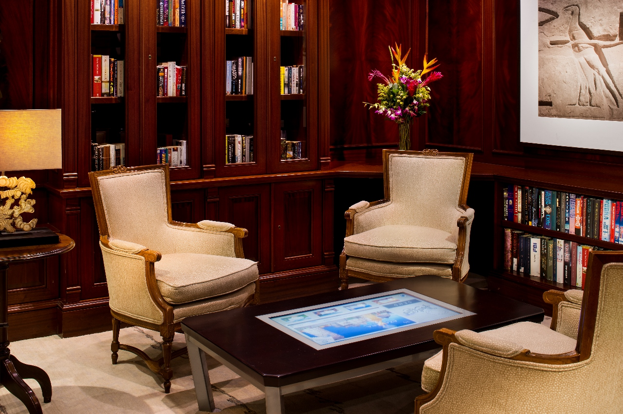 The new and improved Drawing Room features on Azamara Quest.