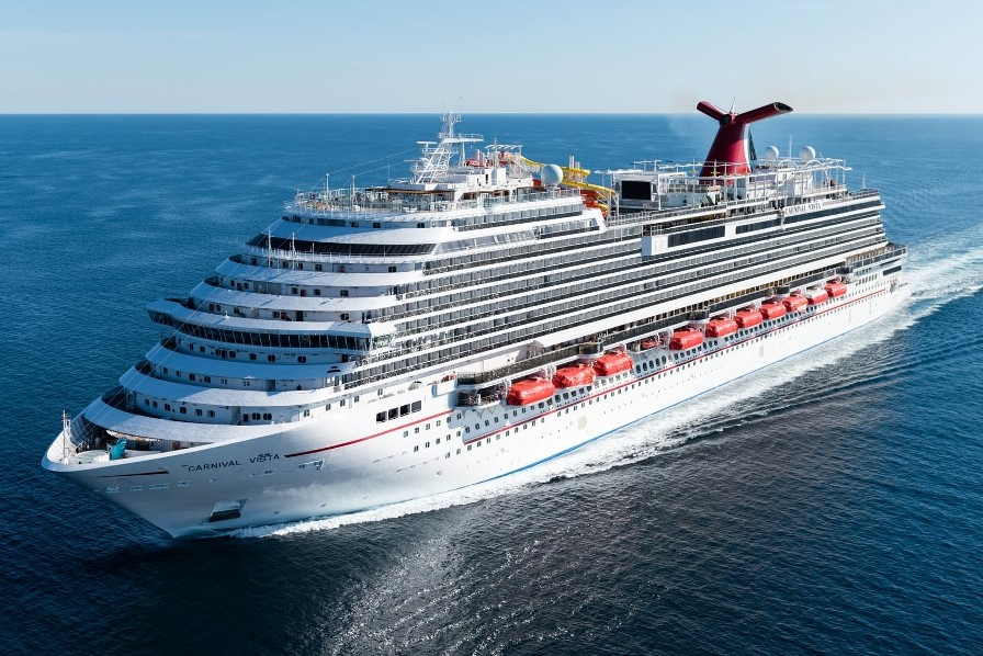 Carnival Cruise Line has taken delivery of Carnival Vista.