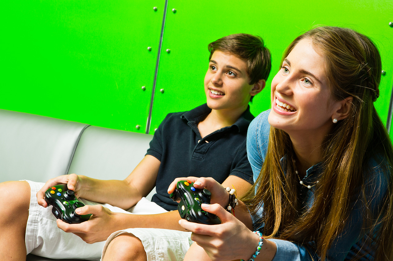 Video gaming is one of many activities on Celebrity Cruises ships
