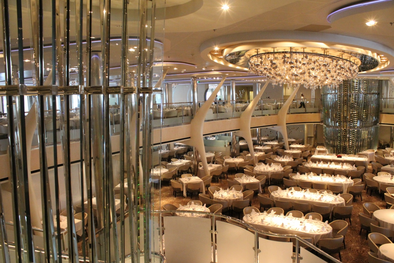 Grand Epernay Dining Room on Celebrity Solstice.