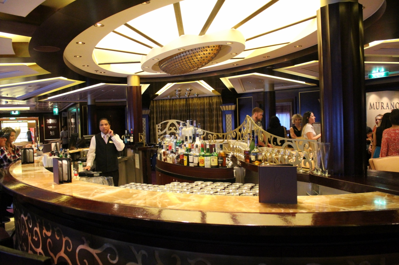 Enjoy the atmosphere at Ensemble Lounge.