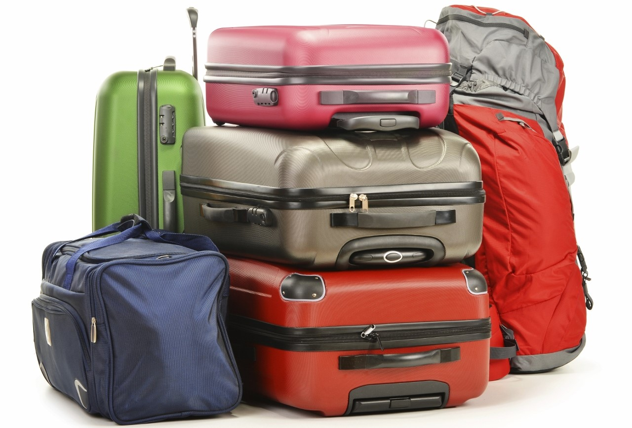 Go easy on the excess baggage if flying home to avoid huge fees.