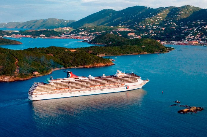 Carnival Cruise Line's Carnival Legend sets sail on its twice-annual journey between Hawaii and Sydney.