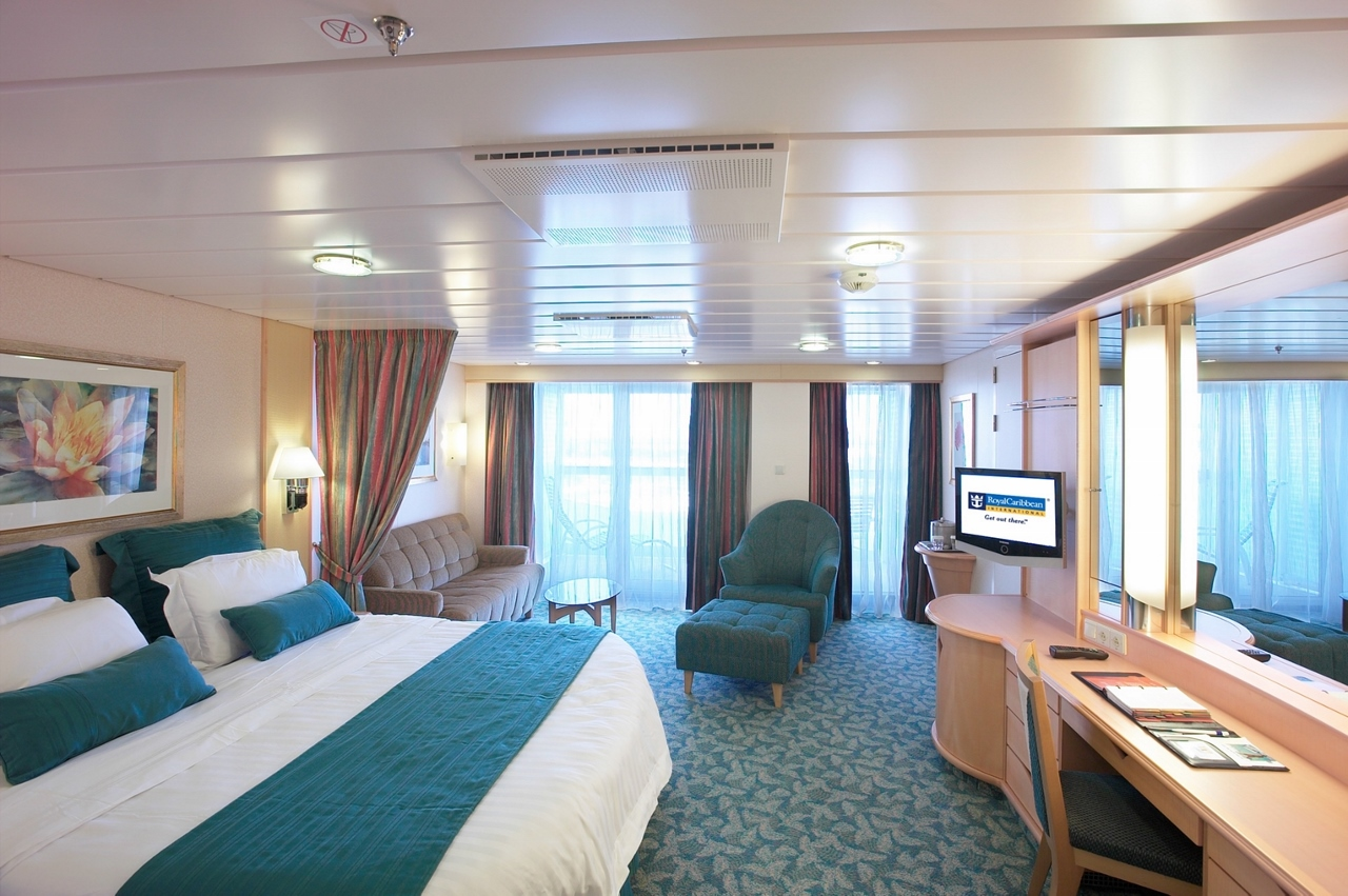 Book a suite on Royal Caribbean and earn Crown & Anchor points at double the rate.
