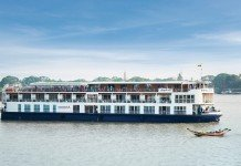 Travelmarvel's RV Princess Panhwar sails in Myanmar.