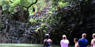 One of Norwegian Cruise Line's shore excursions in Maui is a hike to see some local waterfalls.