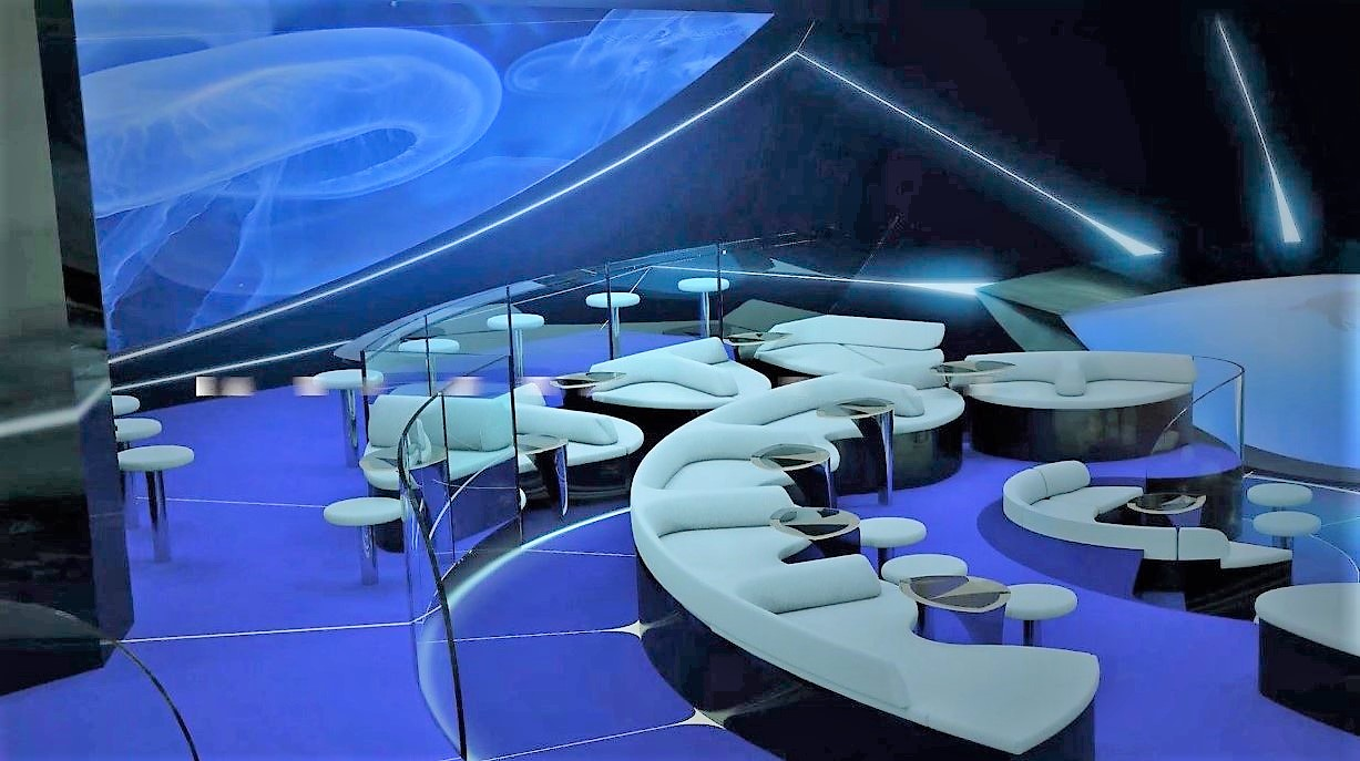 An underwater lounge is coming to Ponant on its four new ships.