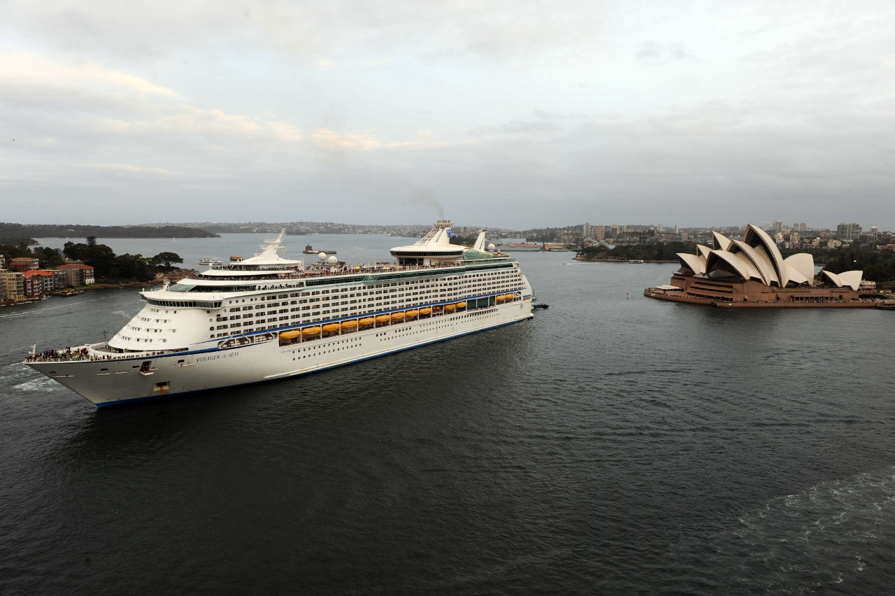 Royal Caribbean's Voyager of the Seas is one of the largest ships sailing from Australia to the South Pacific.