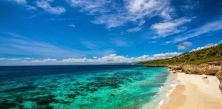 The beaches of East Timor